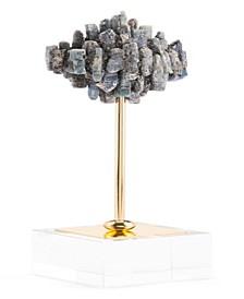 Large Black Stone Pedestal