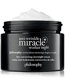 Anti-Wrinkle Miracle Worker+ Line-Correcting Overnight Cream, 2-oz.