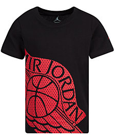 Jordan Big Boys Fly Wings-Print Cotton T-Shirt