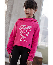 Nike Little Girls Futura Fleece Hoodie