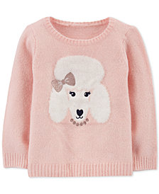 Carter's Toddler Girls Poodle Sweater