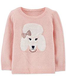 Carter's Toddler Girls Poodle Sweater