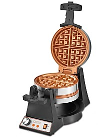 Crux Double Rotating Waffle Maker, Created for Macy's