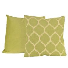 Ivana Ikat Chenille Jacquard Pillow