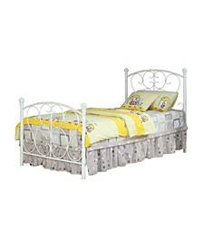 Aubrey Twin Metal Bed