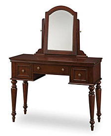 Home Styles Lafayette Cherry Vanity Table