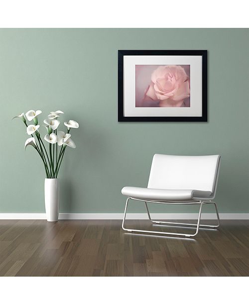 "Trademark Global Cora Niele 'Tenderness' Matted Framed Art, 11"" x 14"""