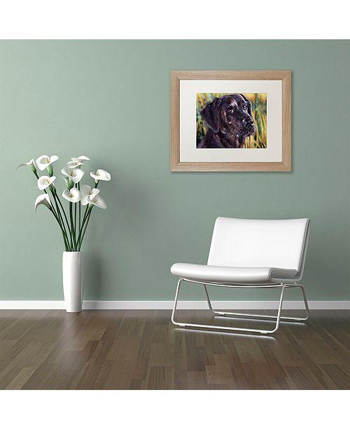 """Trademark Global Jenny Newland 'Forever Faithful' Matted Framed Art, 11"""" x 14"""""""