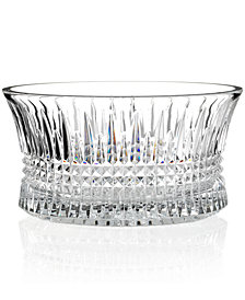 Waterford Gifts, Lismore Diamond Crystal Bowl 10""