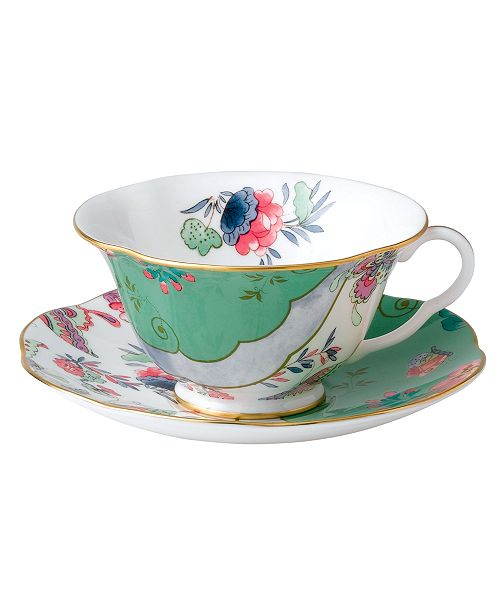 Wedgwood Butterfly Posy Cup and Saucer