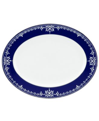 Dinnerware, Empire Indigo Oval Platter