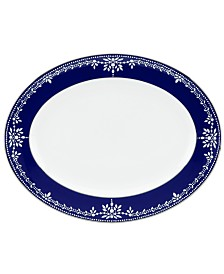 Dinnerware, Empire Indigo Oval Platter