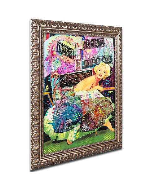 "Trademark Global Dean Russo 'Marilyn In NYC' Ornate Framed Art, 11"" x 14"""