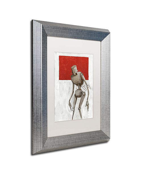 "Trademark Global Craig Snodgrass 'Bleak' Matted Framed Art, 11"" x 14"""