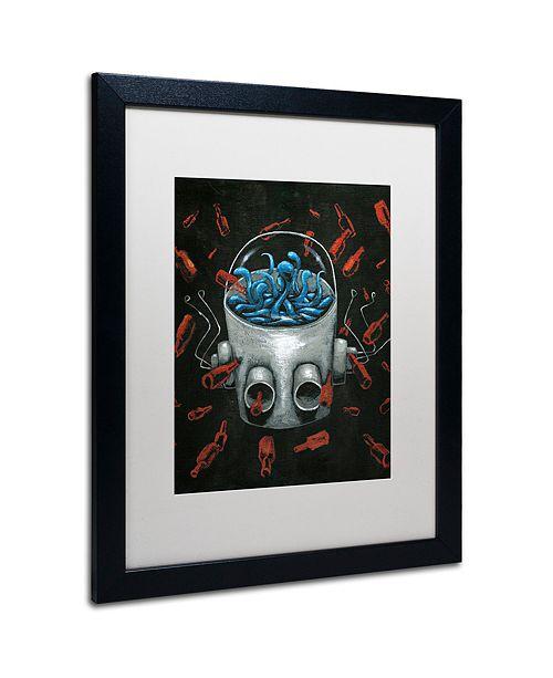 "Trademark Global Craig Snodgrass 'Visions II' Matted Framed Art, 16"" x 20"""