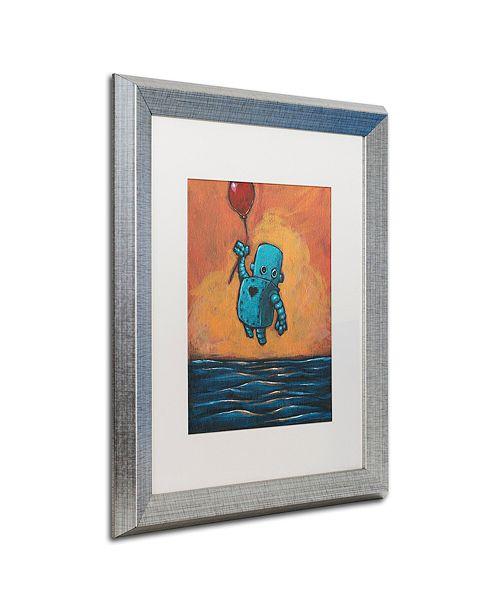 """Trademark Global Craig Snodgrass 'Float II' Matted Framed Art, 16"""" x 20"""""""