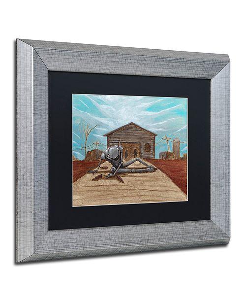 """Trademark Global Craig Snodgrass 'Illinois' Matted Framed Art, 11"""" x 14"""""""