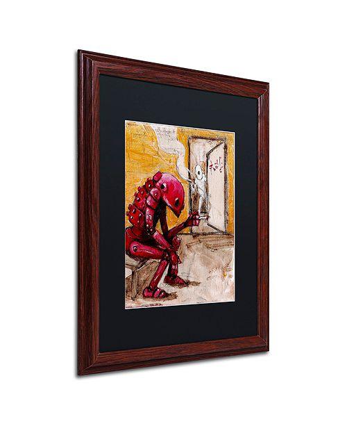 """Trademark Global Craig Snodgrass 'Obsolete' Matted Framed Art, 16"""" x 20"""""""