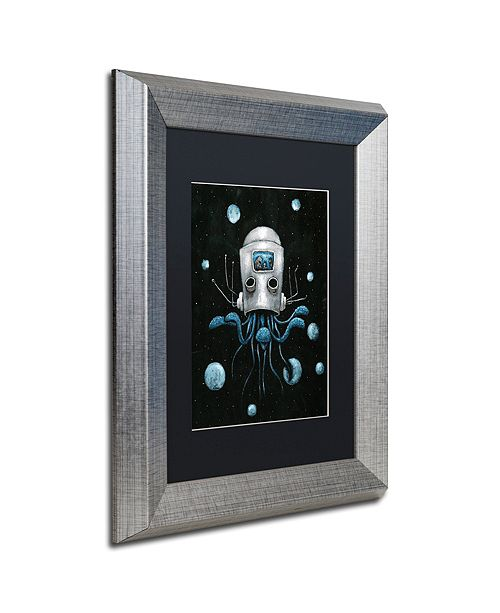"Trademark Global Craig Snodgrass 'Visions I' Matted Framed Art, 11"" x 14"""