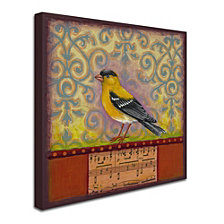 Rachel Paxton 'Goldfinch' Canvas Art