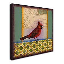 Rachel Paxton 'Cardinal' Canvas Art