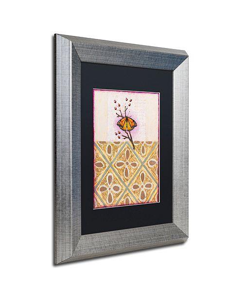 """Trademark Global Rachel Paxton 'Cobbs Point Butterfly' Matted Framed Art, 11"""" x 14"""""""