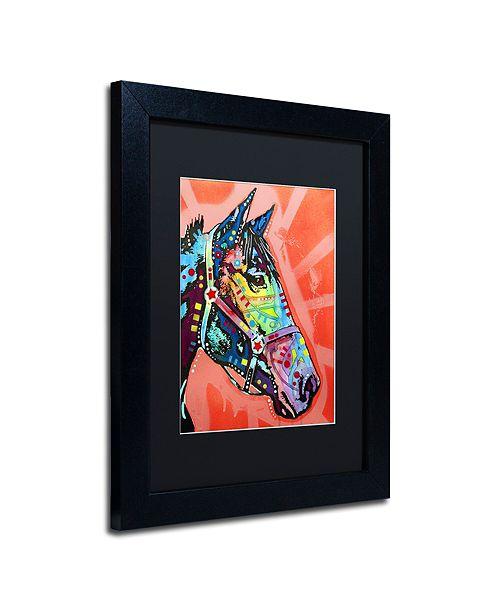 "Trademark Global Dean Russo 'WC Horse 3' Matted Framed Art, 11"" x 14"""
