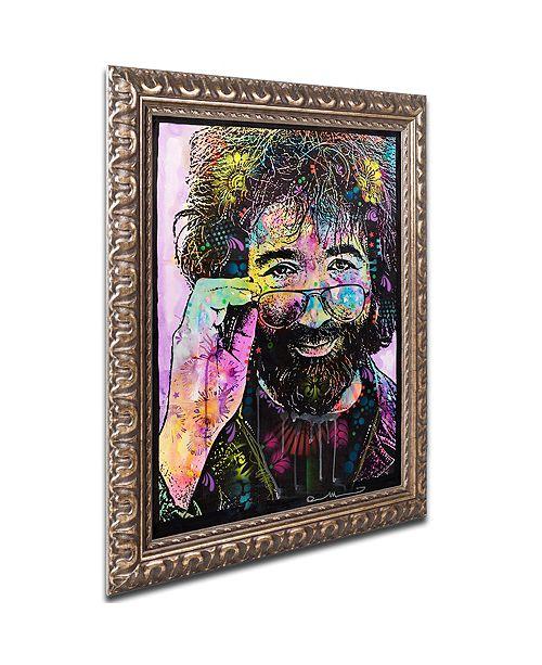 "Trademark Global Dean Russo 'Jerry Garcia' Ornate Framed Art, 11"" x 14"""