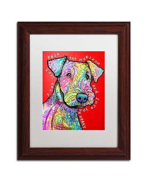 """Trademark Global Dean Russo 'Into Your Heart' Matted Framed Art - 11"""" x 14"""""""