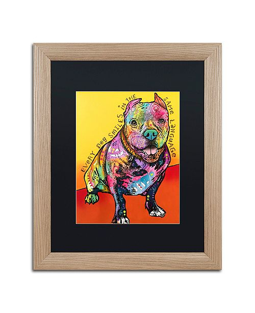 """Trademark Global Dean Russo 'Moses' Matted Framed Art - 16"""" x 20"""""""