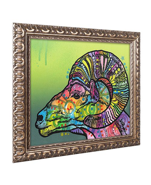 "Trademark Global Dean Russo 'Ram' Ornate Framed Art, 11"" x 14"""