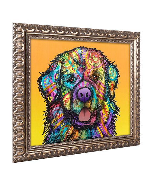 "Trademark Global Dean Russo 'Newfie' Ornate Framed Art, 16"" x 20"""