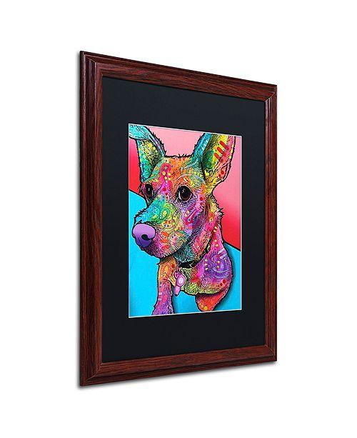 "Trademark Global Dean Russo 'Jack' Matted Framed Art, 16"" x 20"""