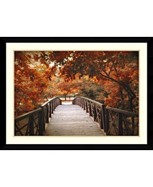Amanti Art Footbridge Framed Art Print