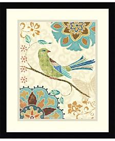 Amanti Art Eastern Tales Birds II Framed Art Print