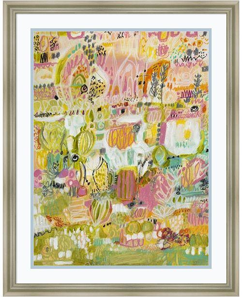 Amanti Art Boho Garden I Framed Art Print