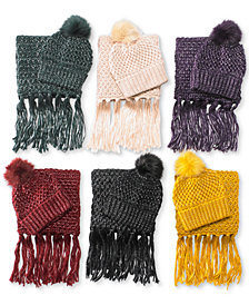 Steve Madden Lurex Knit Collection