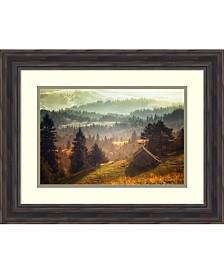 Amanti Art Rustic Cabin  Framed Art Print