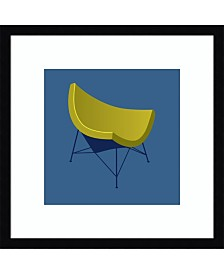 Amanti Art Mid Century Chair I Framed Art Print