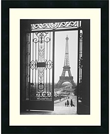 The Eiffel Tower From The Trocadero, 1925 Framed Art Print