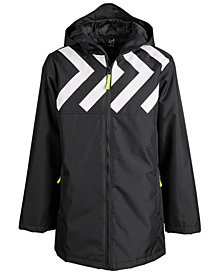 Ideology Little Boys Hooded Arrow Coat, Created for Macy's
