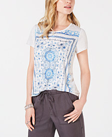 Style & Co Printed T-Shirt, Created for Macy's