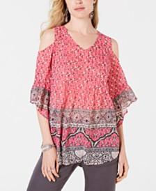 f4681ee8bd9 Cold Shoulder Tops  Shop Cold Shoulder Tops - Macy s