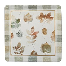 A Woodland Walk Square Platter