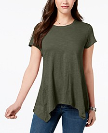 Handkerchief-Hem T-Shirt, Created for Macy's