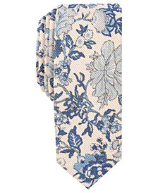 Penguin Men's Carew Skinny Floral Tie