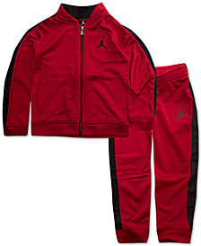 Jordan Toddler Boys 2-Pc. Legacy Tricot Jacket & Pants Set