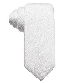 Alfani Men's Colfax Slim Fleck Silk Tie, Created for Macy's