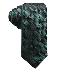 Alfani Men's Epping Slim Textured Multi-Stripe Silk Tie, Created for Macy's