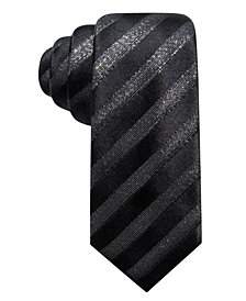 Alfani Men's Jaffrey Slim Stripe Silk Tie, Created for Macy's
